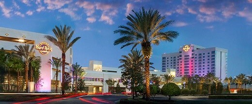 The Seminole Hard Rock is the only casino in the Tampa area