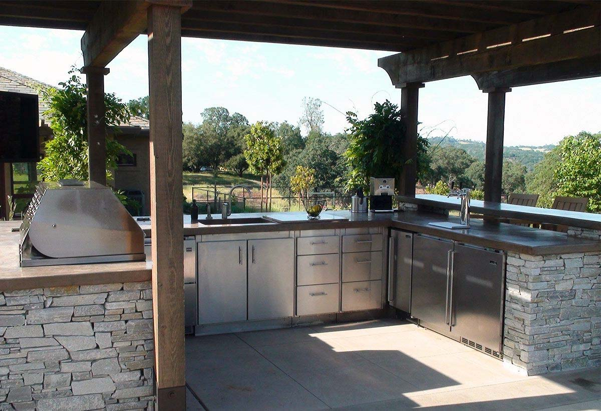 Outdoor Kitchen Ideas and Designs For 2019 - Top 10 Best on Backyard Kitchen Design id=33732