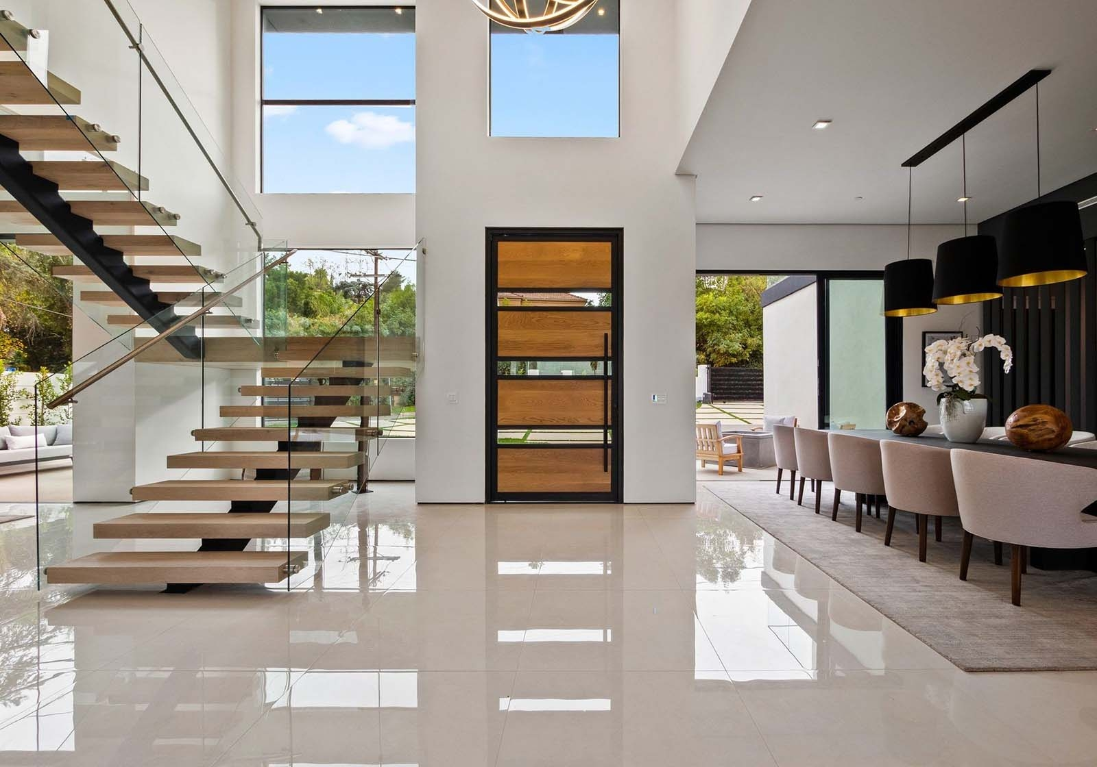 Modern Staircase Design Contemporary Stair Design Ideas | Modern Staircase Window Design | Architecture | Small House Stair | Section Window | Elegant | Wooden