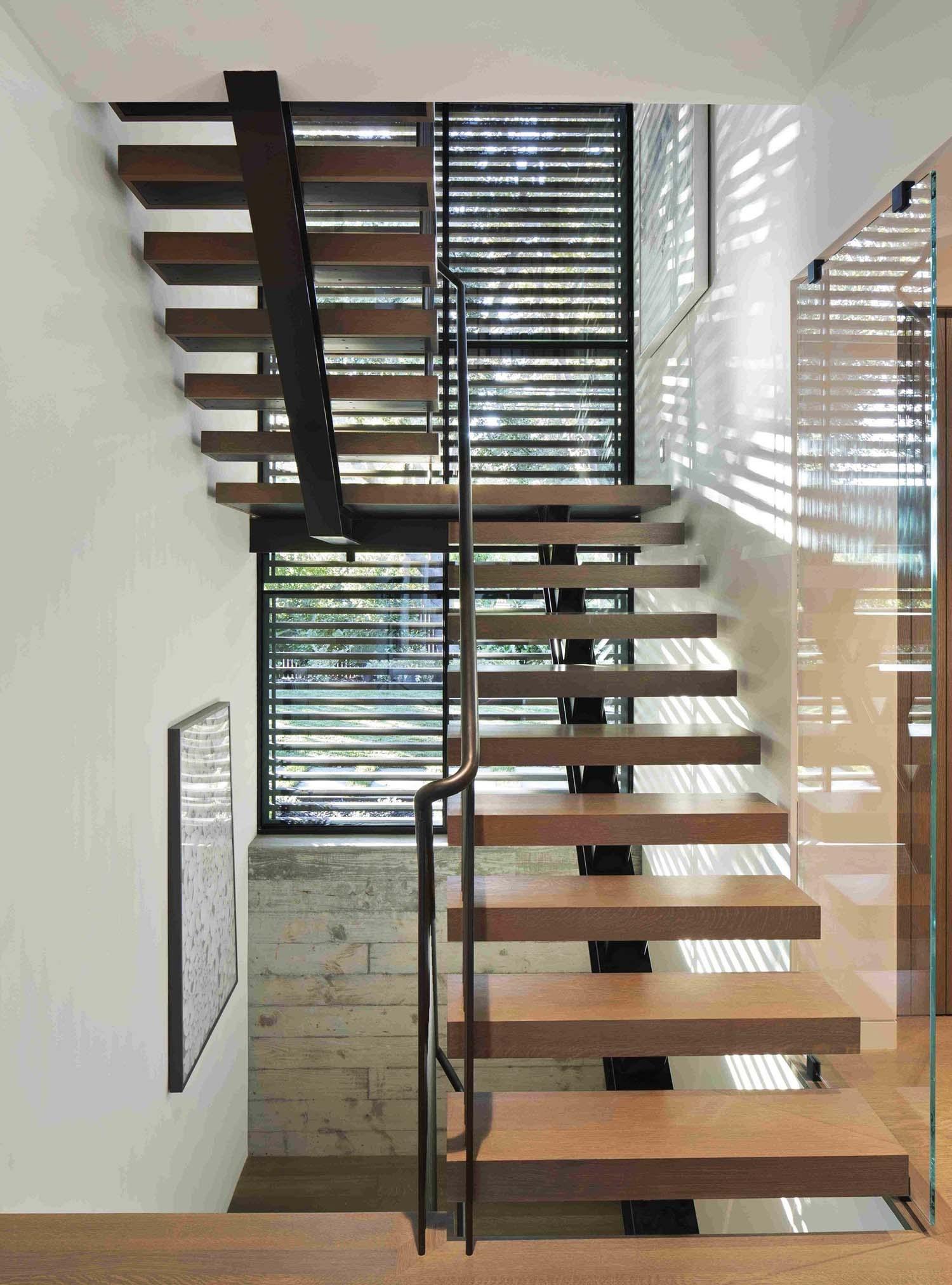 Modern Staircase Design Contemporary Stair Design Ideas | Building Half Round Wood Steps | Curved | Precast Concrete Steps | Outdoor | Concrete Slab | Risers