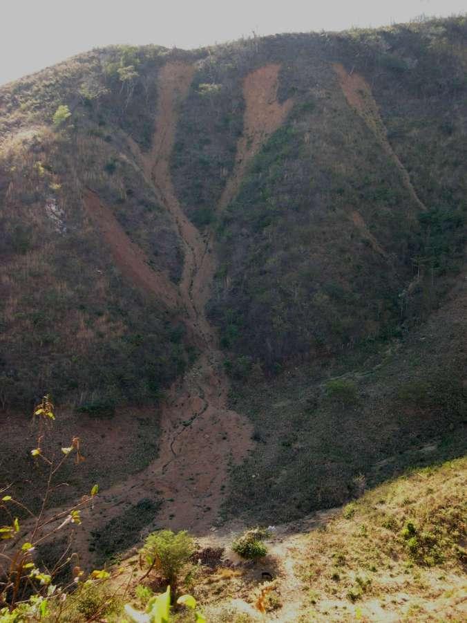 Mudslide, Cerro La Cotorra SE2