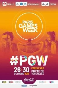 Affiche de la Paris Games Week 2018