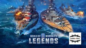 Légendes de World of Warships pour PS4 et Xbox one !