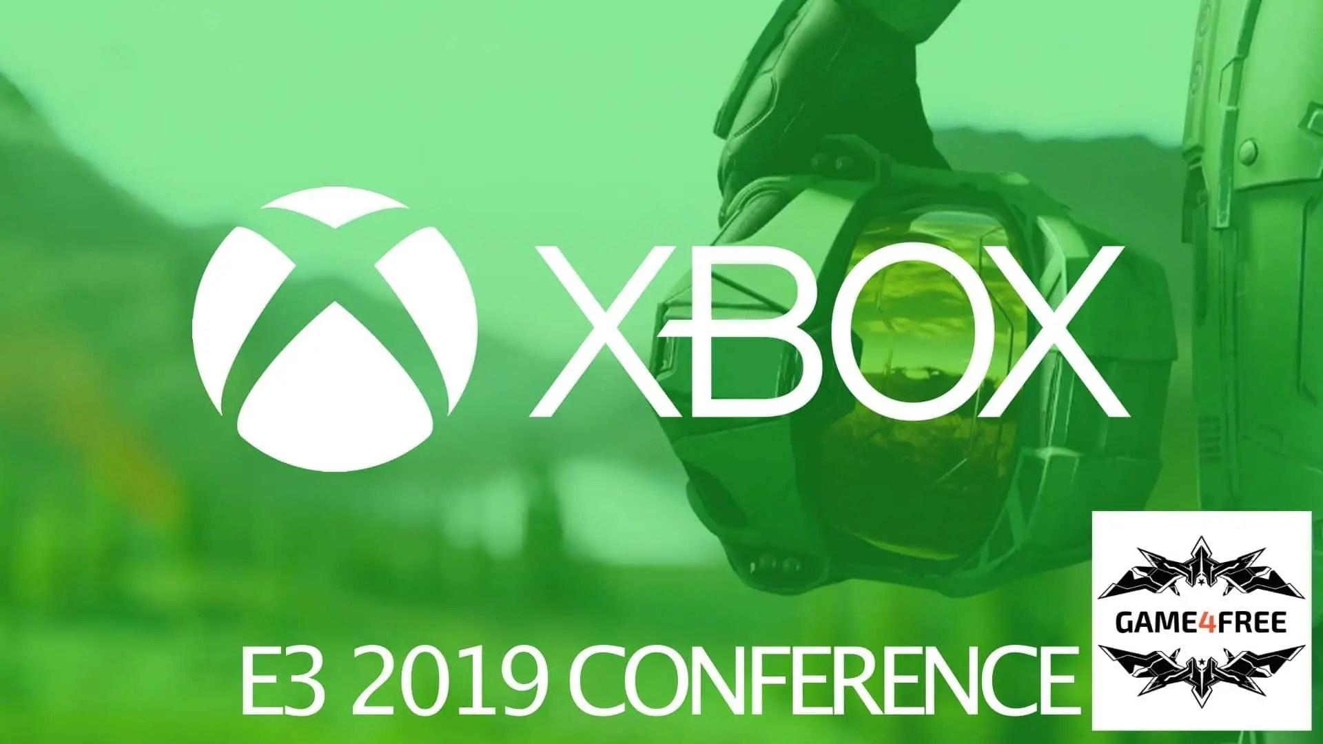 E3 2019 : Quand a lieu la conférence XBOX de l'E3 2019 ?