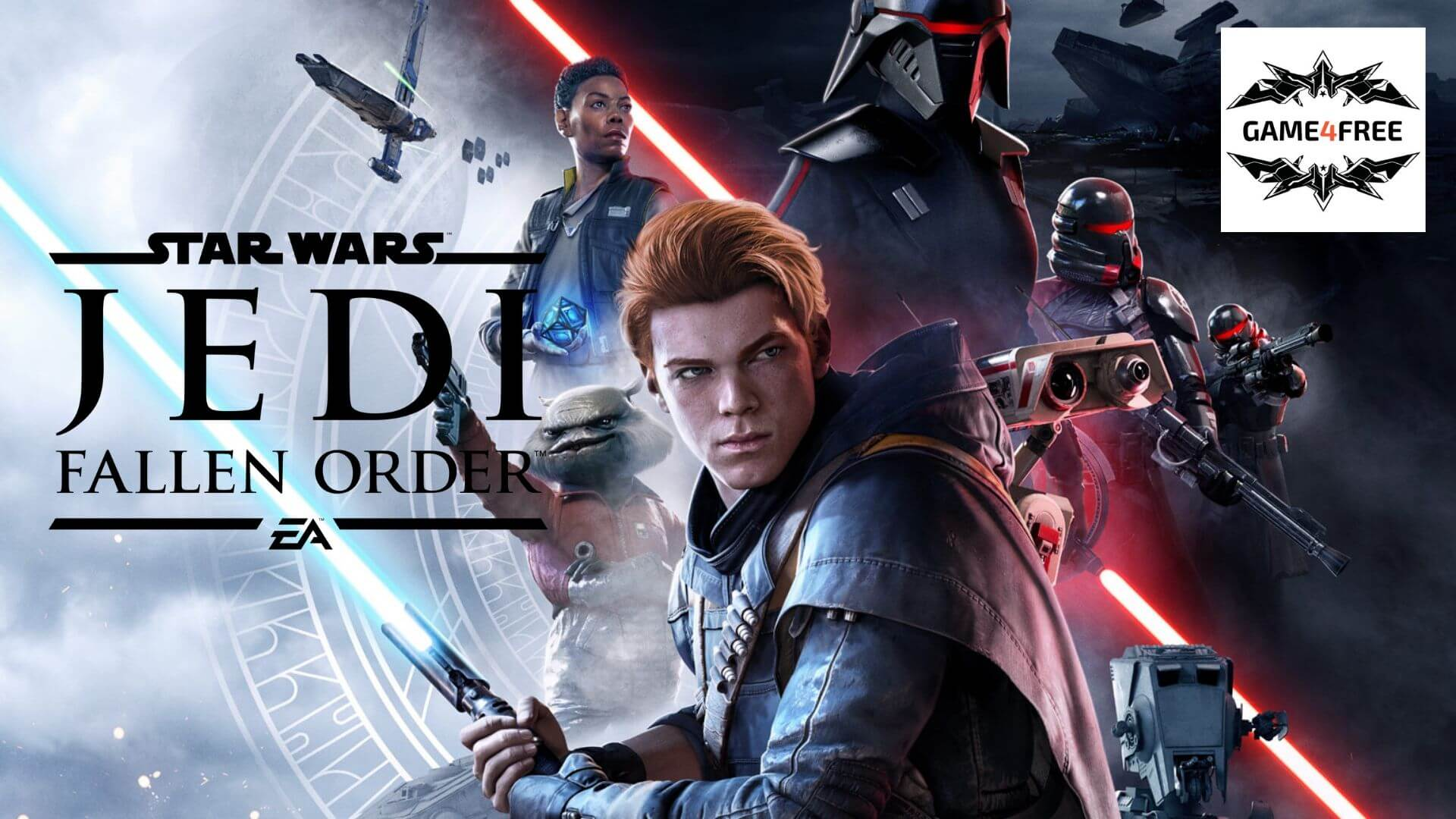 E3 2019 EA Play – Star Wars Jedi: Fallen Order Gameplay Réveler