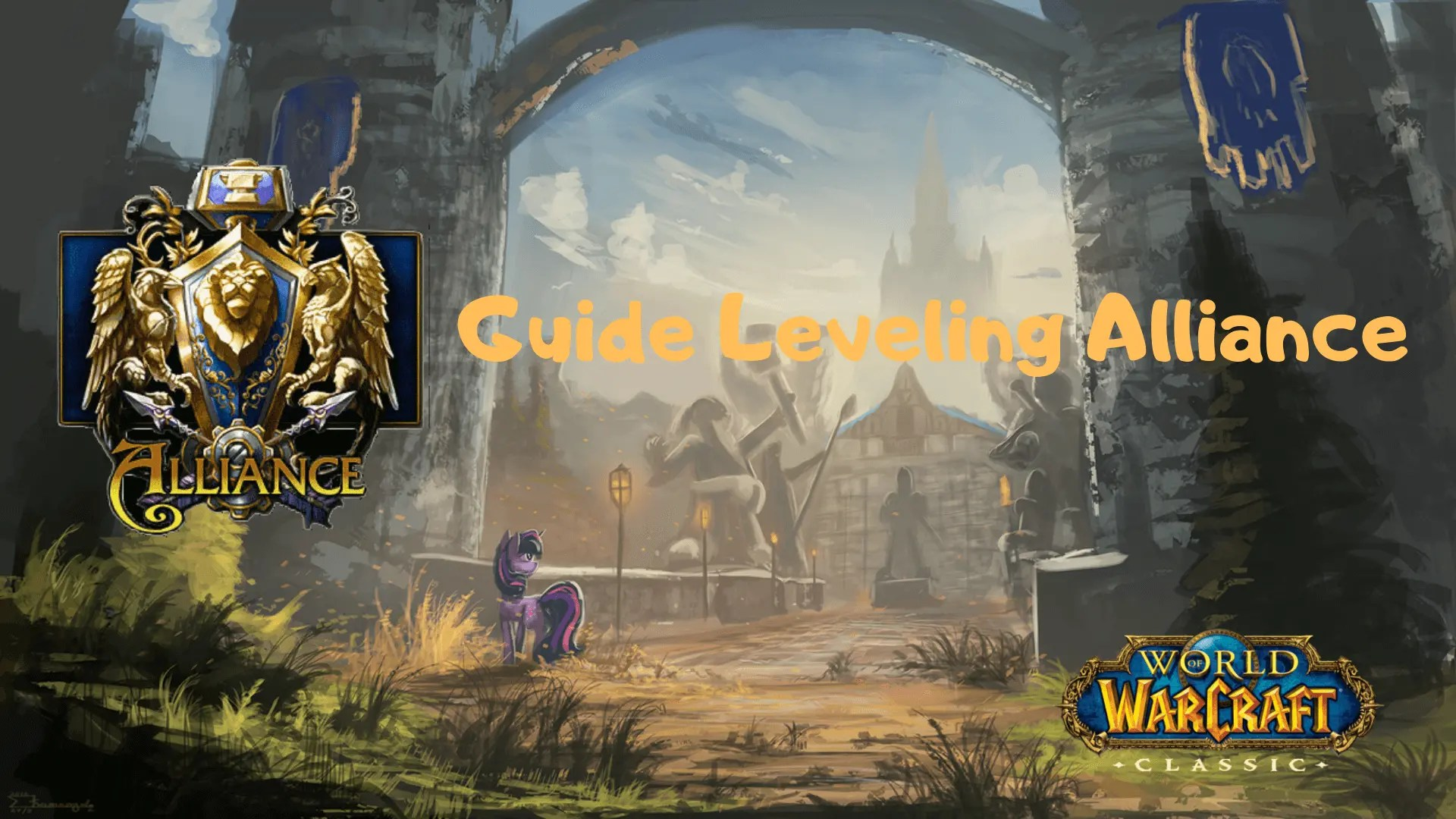 Guide Leveling (1-60) Alliance pour WoW Classic