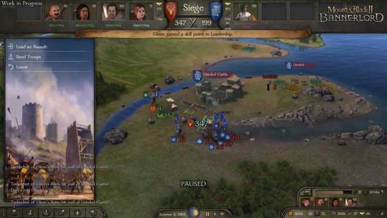 Mount & Blade siege