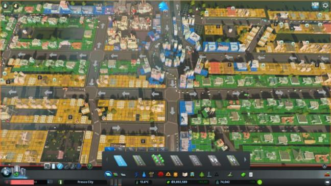 ctitiesskyline Clean up08 1024x576 - 【Cities:skylines 攻略ブログ】クリーンアップ・クルー 人口75,000 健康度85%以上達成