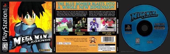 Mega Man Legends Jewel Case Release