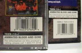 PSX Space Hulk Long Box Barcode