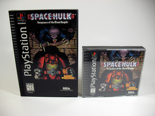 PSX Space Hulk Long Box Front Compare