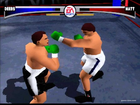 psx knockout kings create a character and ladder Screen Shot 8_19_18, 11.44 PM