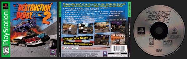 Destruction Derby 2 Greatest Hits Release