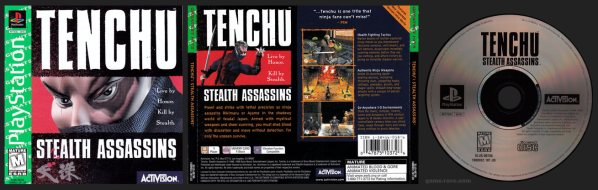 Tenchu Stealth Assassins Greatest Hits Release