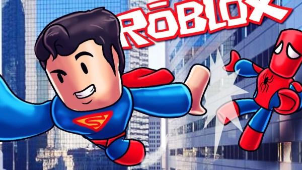 Роблокс Супер Хиро тайкон - все супер герои на одной карте