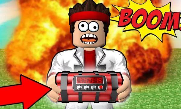Роблокс симулятор взрыва видео с Аидом и Робзи, коды от ...