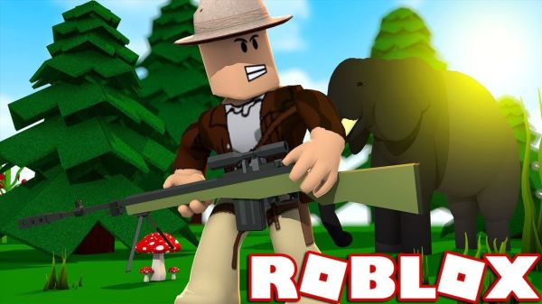 Роблокс симулятор охоты на диких животных играть в режим,