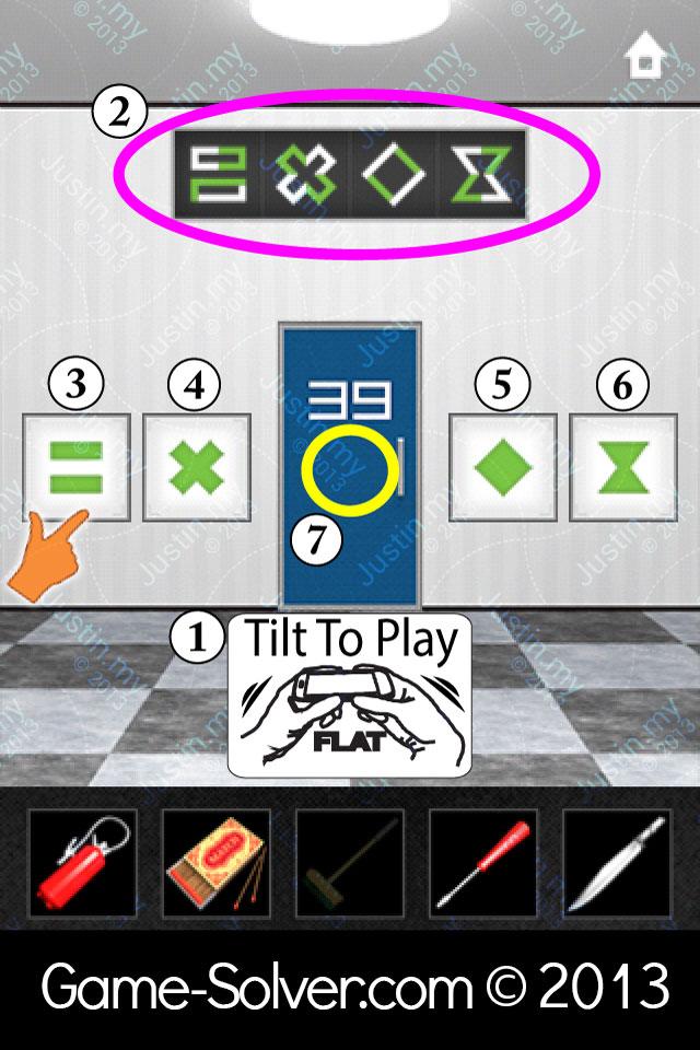 Dooors 2 Level 39 Game Solver