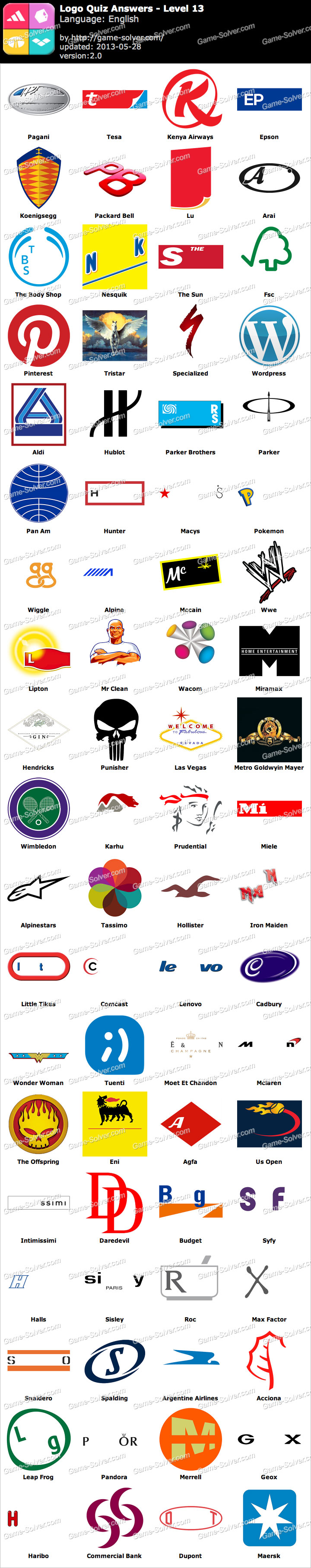 Logo Quiz Level 13