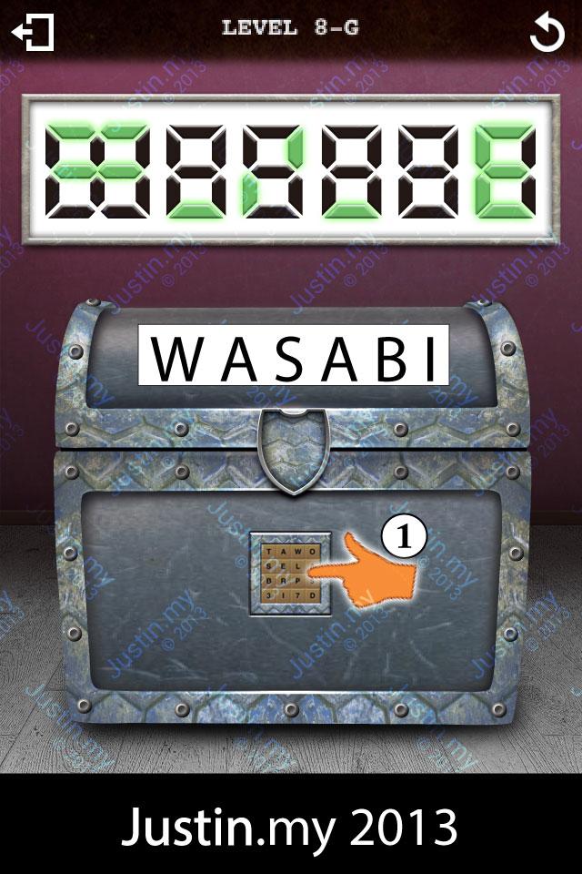 Treasure Box 2 Level 8-G