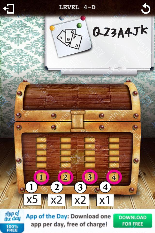 Treasure Box Level 4-D
