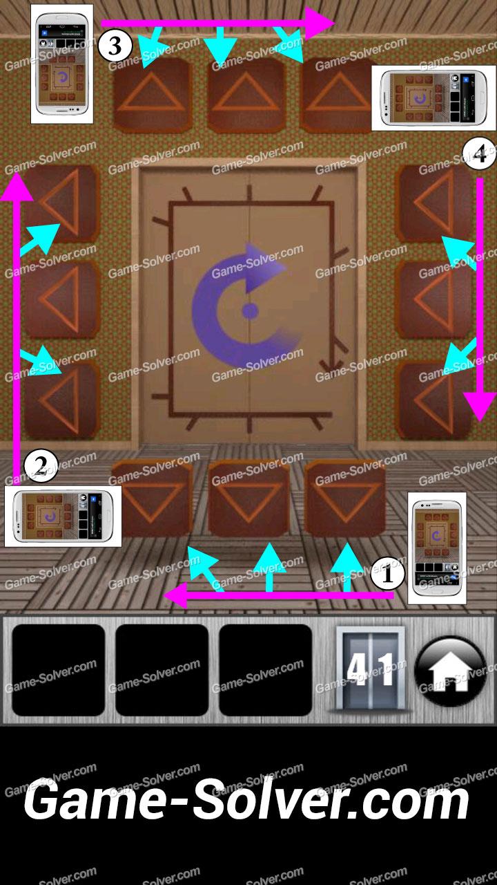 100 Doors Runaway Level 41 Game Solver