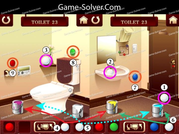 100 Toilets Level 23