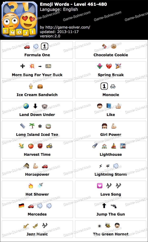 Emoji Words Level 461-480
