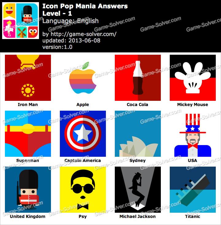 Icon Pop Mania Level 1
