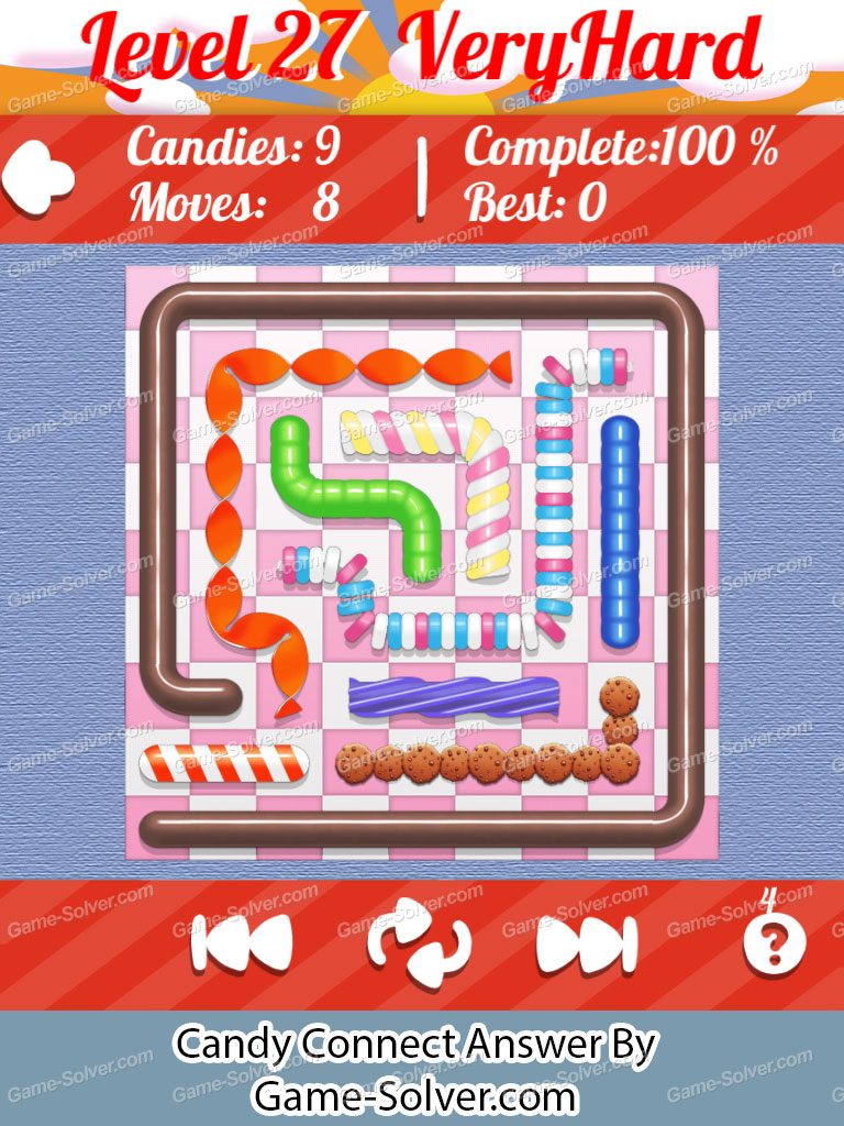 Candy Connect 9x9 Very Hard Level 27