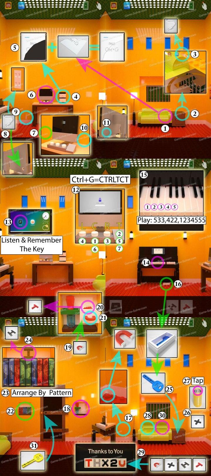 Cubic Room 3 Walkthrough Chapter 1