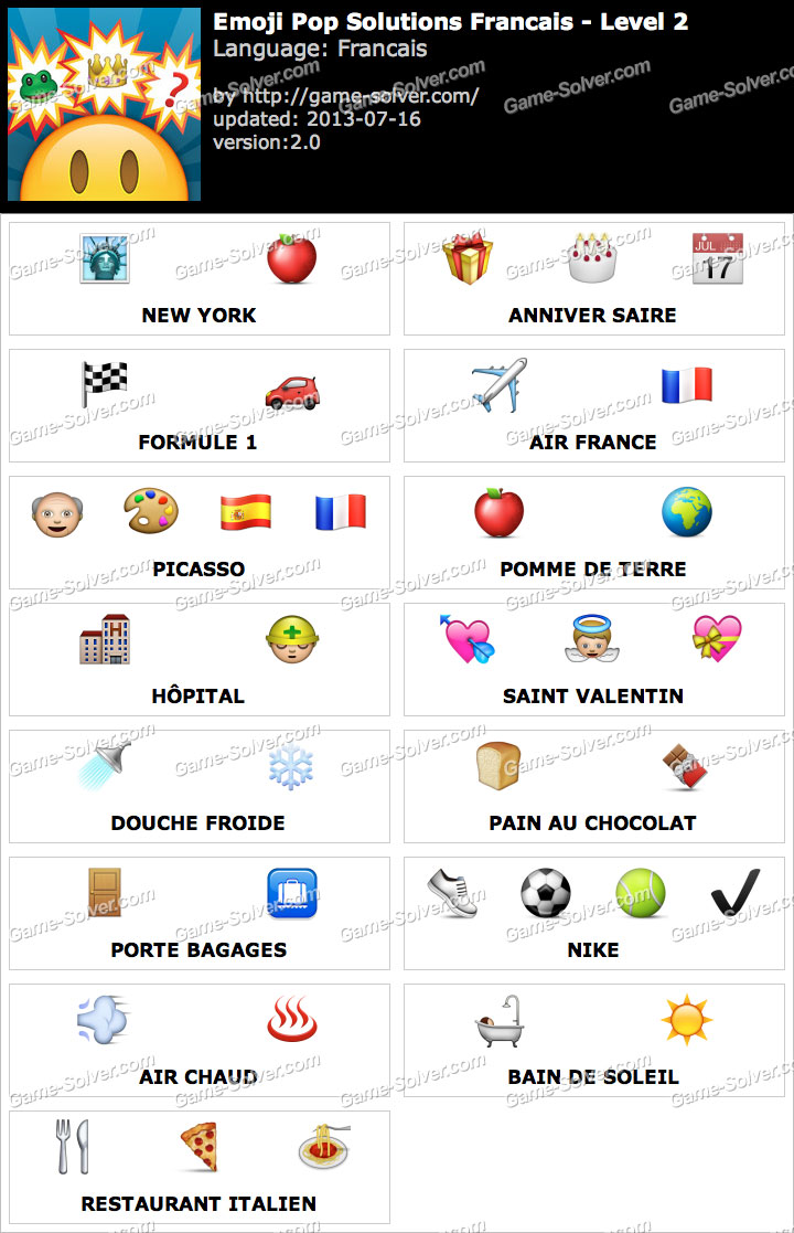 Emoji Pop Niveau 2