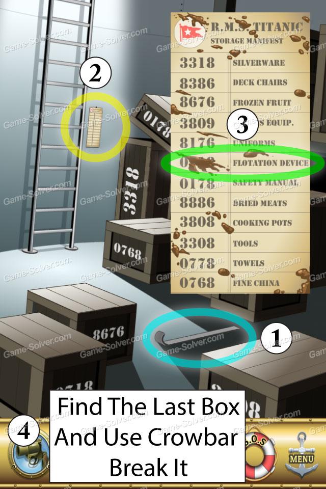 Escape The Titanic Level 31