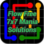 Flow 7×7 Mania Solutions