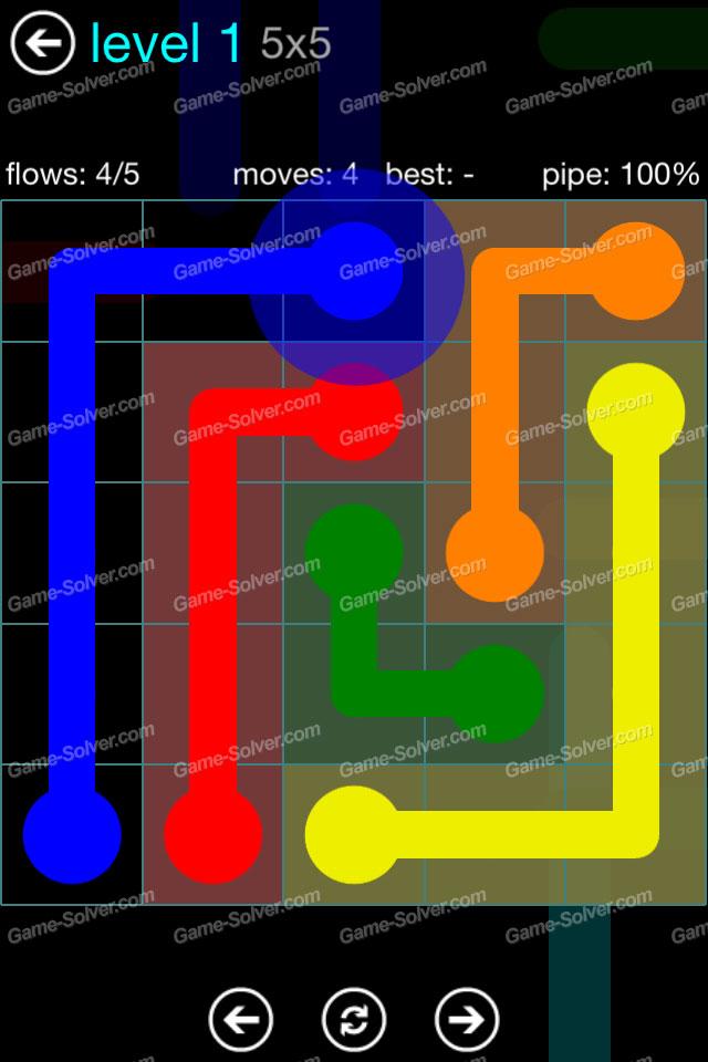 Flow Blue Pack 5x5 Level 1