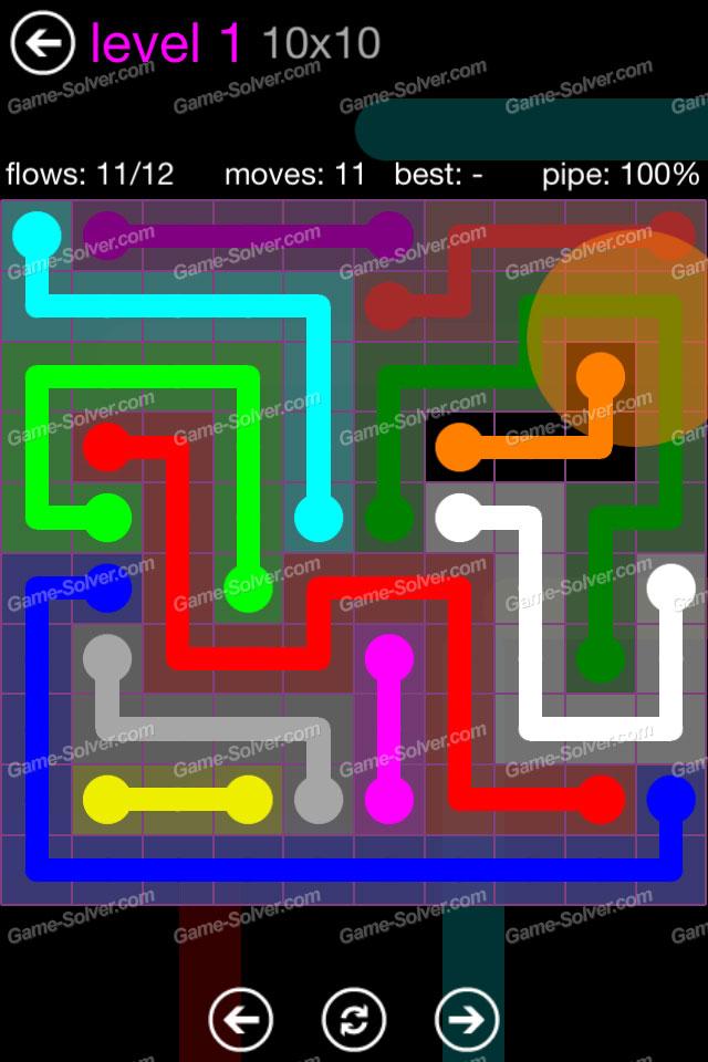 Flow Purple Pack 10x10 Level 1