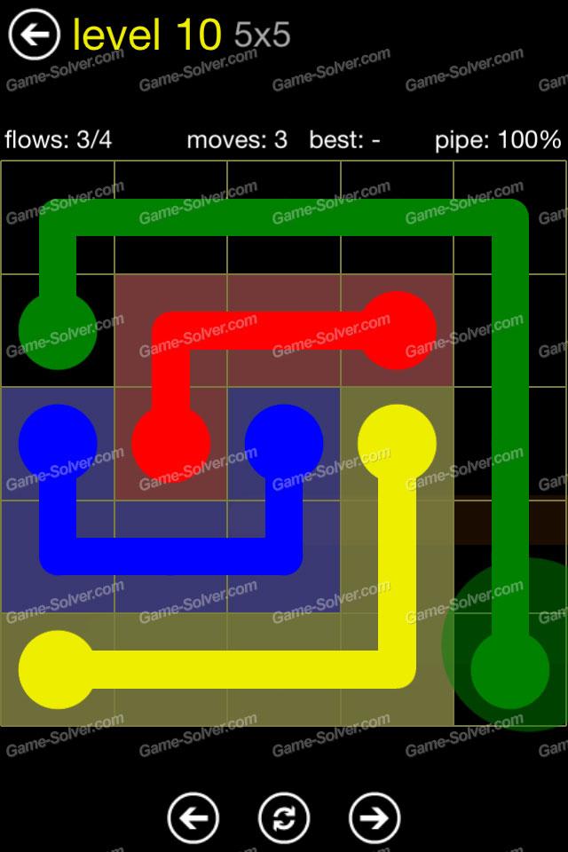 Flow Regular Pack 5x5 Level 10