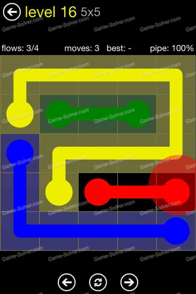 Flow Regular Pack 5x5 Level 16