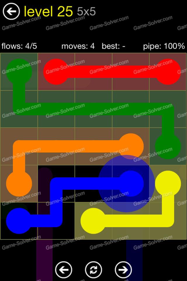 Flow Regular Pack 5x5 Level 25