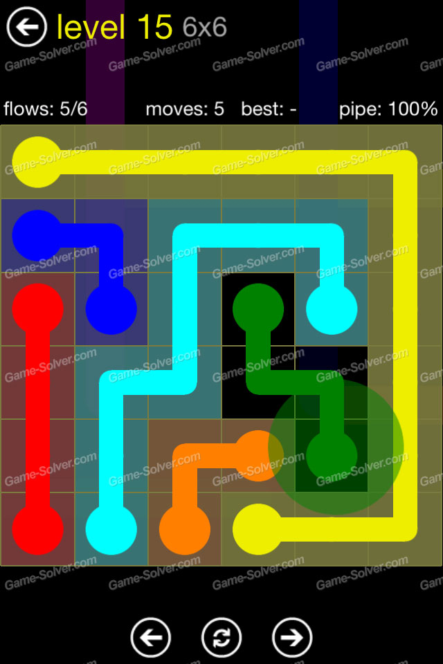 Flow Regular Pack 6x6 Level 15