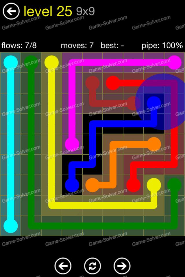 Flow Regular Pack 9x9 Level 25