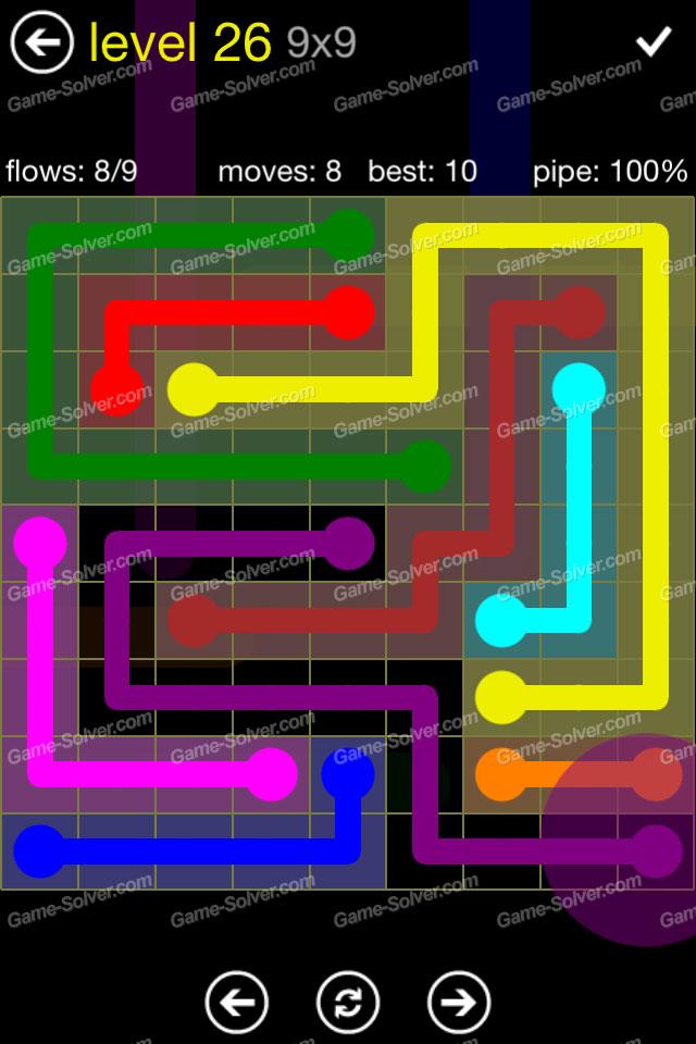 Flow Regular Pack 9x9 Level 26