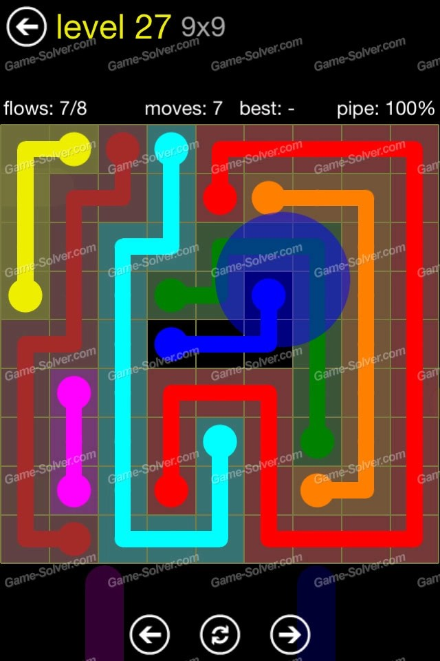 Flow Regular Pack 9x9 Level 27