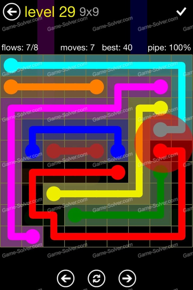 Flow Regular Pack 9x9 Level 29