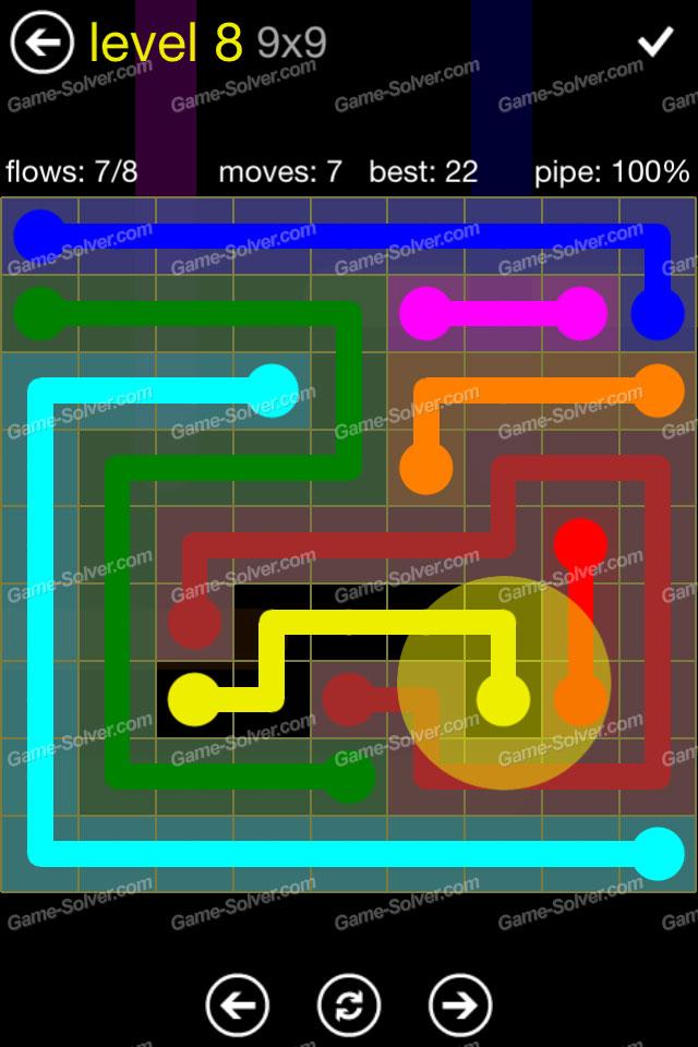 Flow Regular Pack 9x9 Level 8