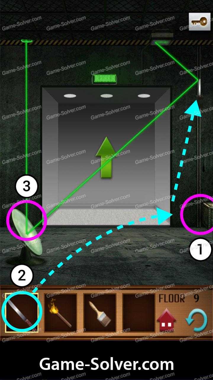 100 Floors Annex Level 9 Game Solver