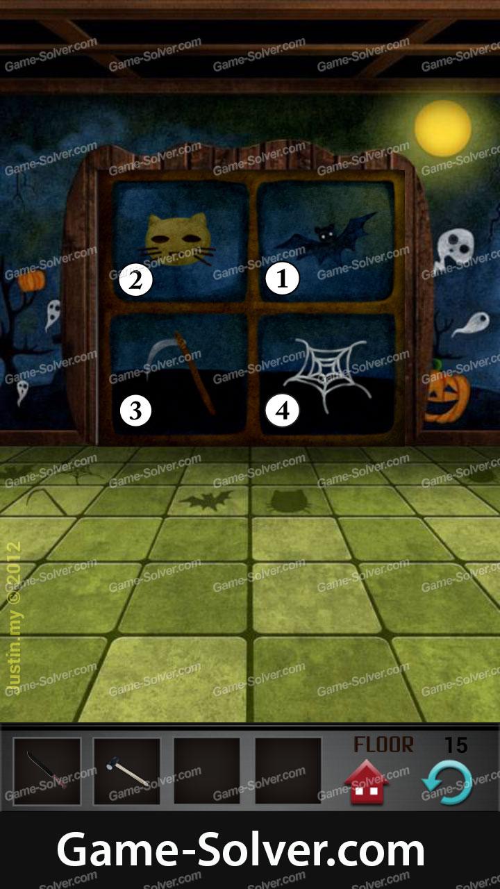 100 Floors Level 15 Game Solver