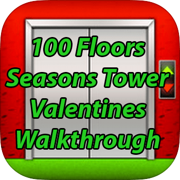 100 Floors Seasons Tower Valentines Level 13 Game Solver