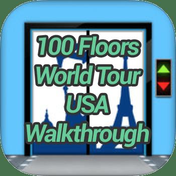 100 Floors World Tour USA Pack Walkthrough