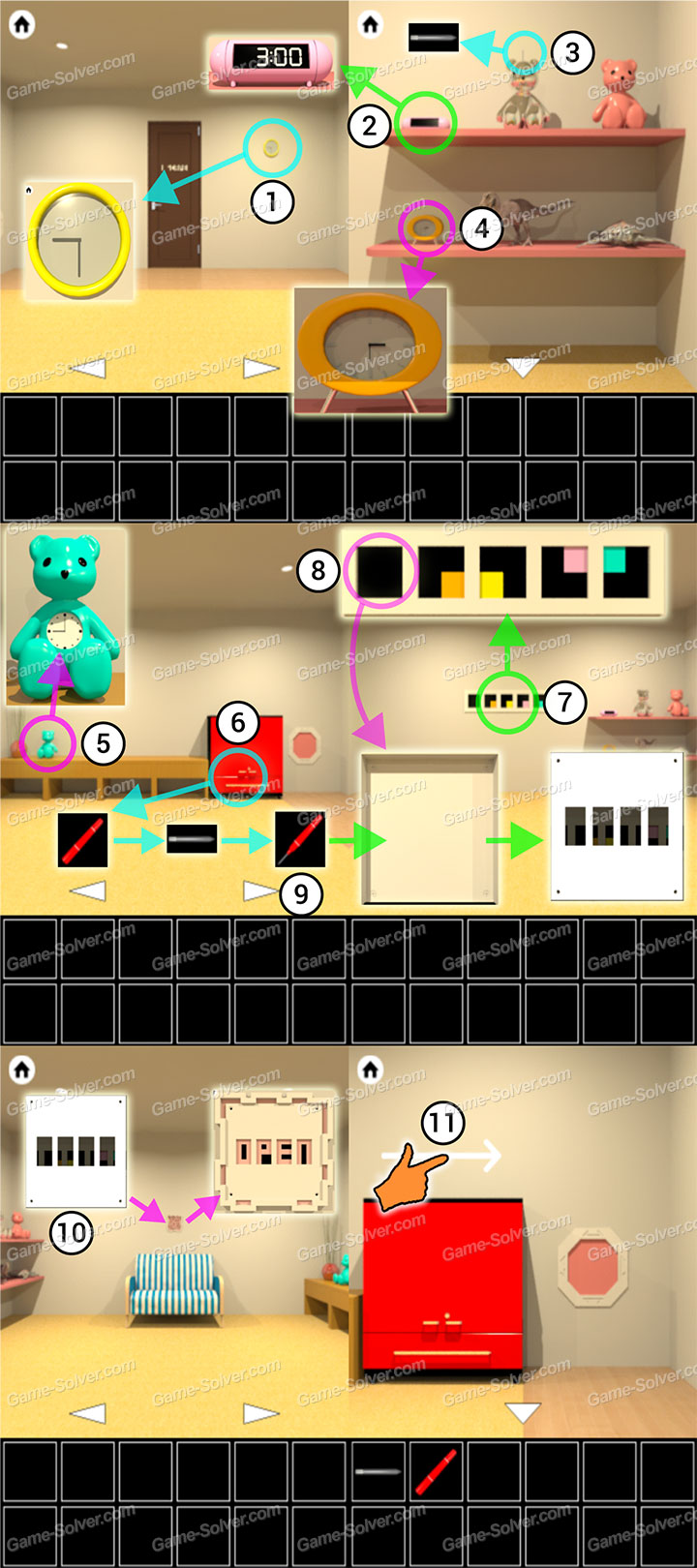 Lift Room Escape Walkthrough Part 1
